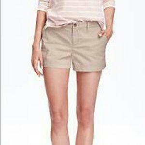 Ann Taylor LOFT khaki/grey shorts